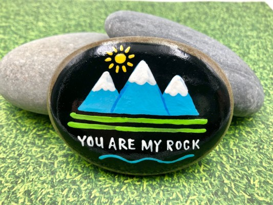 Painted Rock Project Example