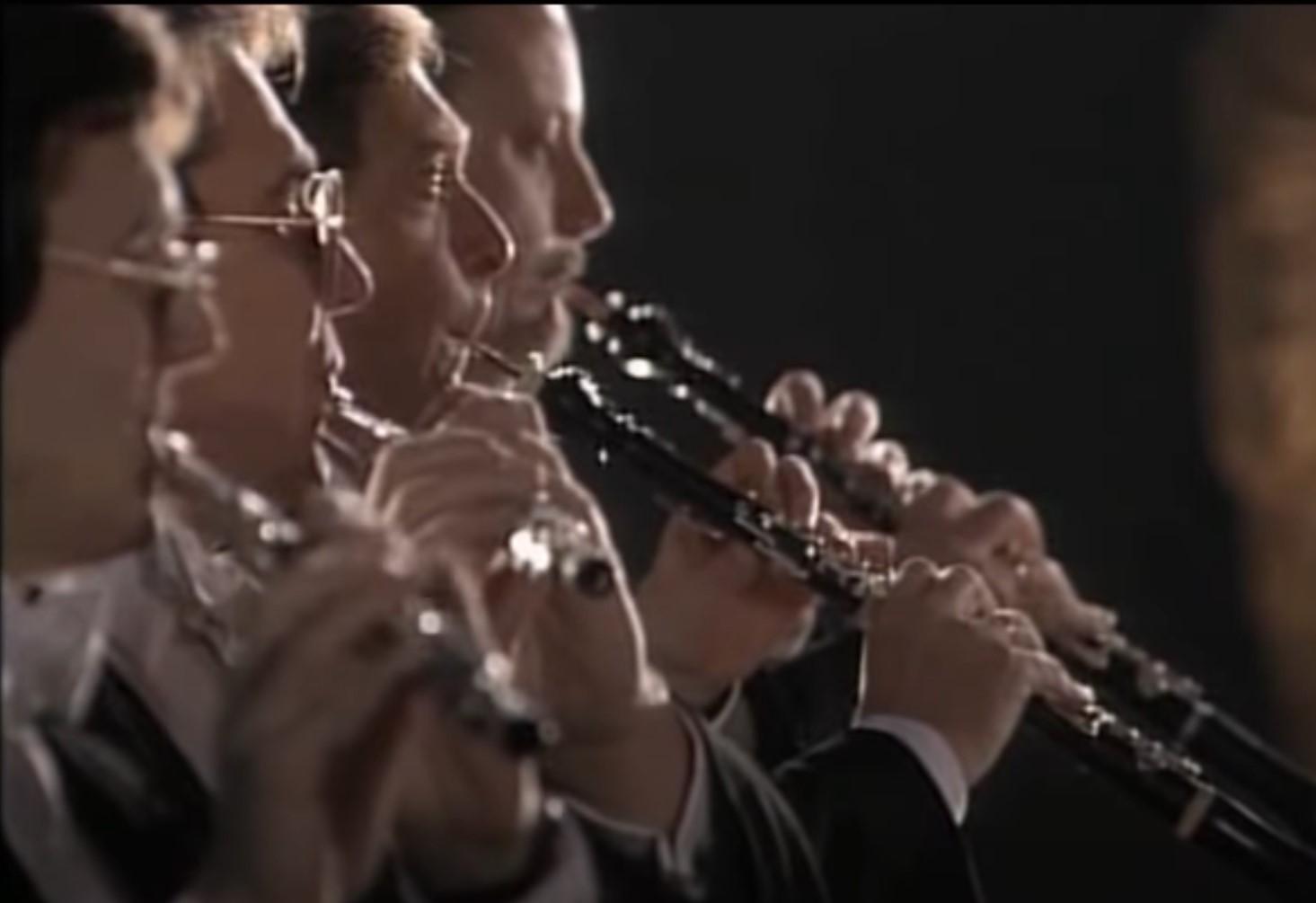 """9. Deutches Requiem Movt. 2 """"Denn alles Fleisch, es ist wie Gras""""  Berlin Philharmonic Orchestra"""